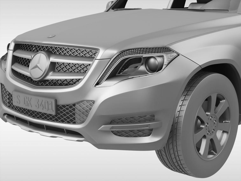 Mercedes Benz glk class (2012 - 2015) 3d líkan 3ds max fbx blanda c4d ma mb skp obj 311839
