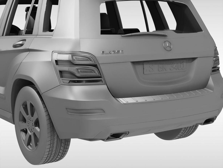 Mercedes Benz glk class (2012 - 2015) 3d líkan 3ds max fbx blanda c4d ma mb skp obj 311840