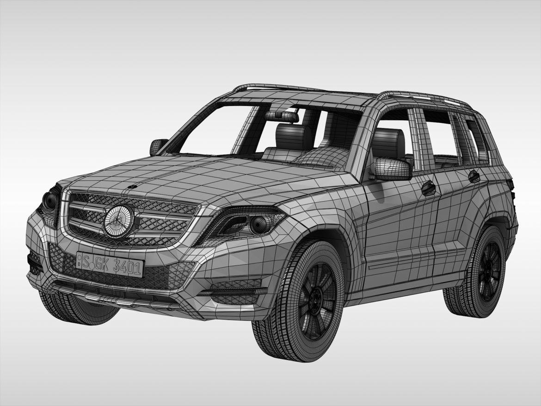 Mercedes Benz glk class (2012 - 2015) 3d líkan 3ds max fbx blanda c4d ma mb skp obj 311841