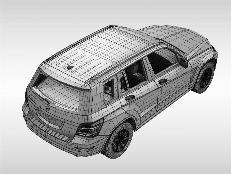 Mercedes Benz glk class (2012 - 2015) 3d líkan 3ds max fbx blanda c4d ma mb skp obj 311843