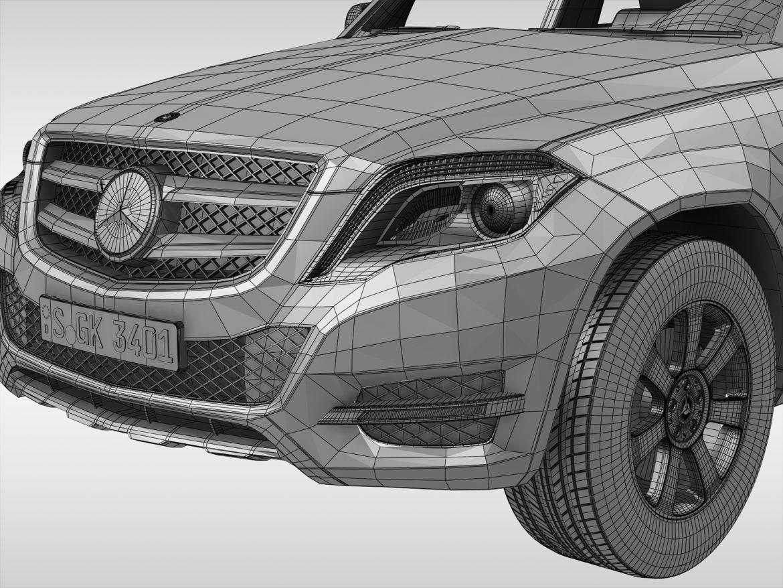 Mercedes Benz glk class (2012 - 2015) 3d líkan 3ds max fbx blanda c4d ma mb skp obj 311844