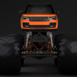 monster truck range rover svautobiography dynamic 3d model 3ds max fbx c4d lwo ma mb hrc xsi obj 312138