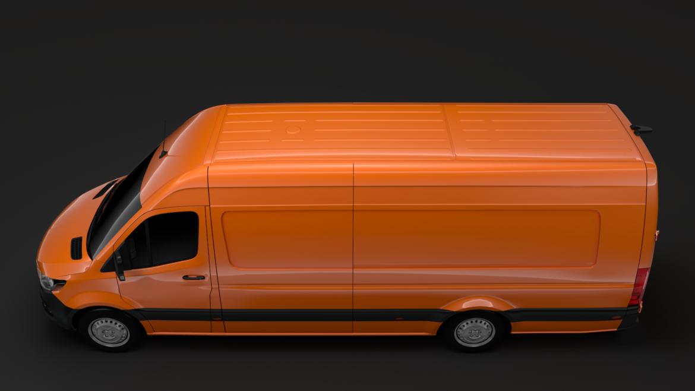 freightliner sprinter panel van l4h2 rwd 2019 3d model 3ds fbx c4d lwo ma mb hrc xsi obj 312379