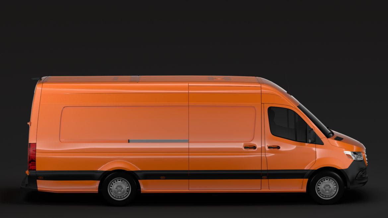 freightliner sprinter panel van l4h2 rwd 2019 3d model 3ds fbx c4d lwo ma mb hrc xsi obj 312382