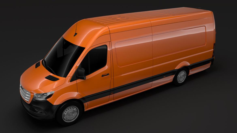 freightliner sprinter panel van l4h2 rwd 2019 3d model 3ds fbx c4d lwo ma mb hrc xsi obj 312383