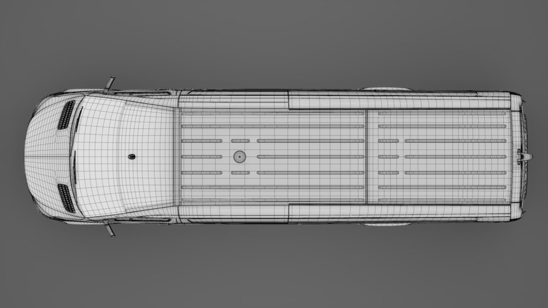 freightliner sprinter panel van l4h2 rwd 2019 3d model 3ds fbx c4d lwo ma mb hrc xsi obj 312390