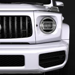 mercedes amg g 63 w463 2019 limousine 3d model 3ds max fbx c4d lwo ma mb hrc xsi obj 312406