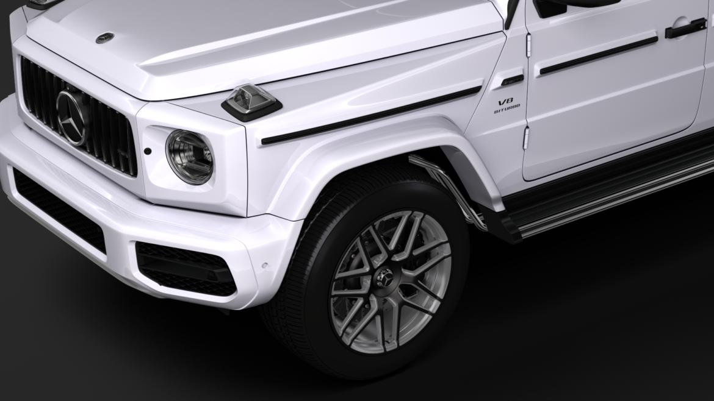mercedes amg g 63 w463 2019 limousine 3d model 3ds max fbx c4d lwo ma mb hrc xsi obj 312410