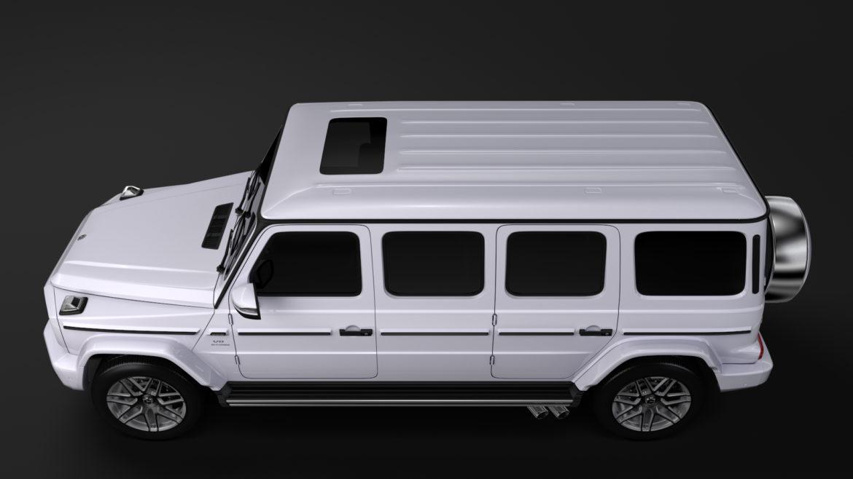 mercedes amg g 63 w463 2019 limousine 3d model 3ds max fbx c4d lwo ma mb hrc xsi obj 312412