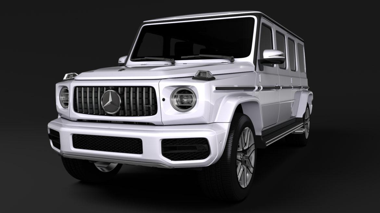 mercedes amg g 63 w463 2019 limousine 3d model 3ds max fbx c4d lwo ma mb hrc xsi obj 312416