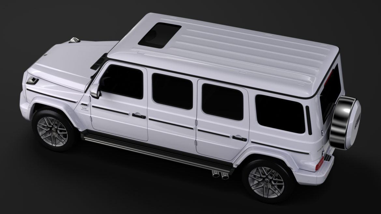 mercedes amg g 63 w463 2019 limousine 3d model 3ds max fbx c4d lwo ma mb hrc xsi obj 312417