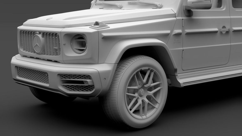 mercedes amg g 63 w463 2019 limousine 3d model 3ds max fbx c4d lwo ma mb hrc xsi obj 312418