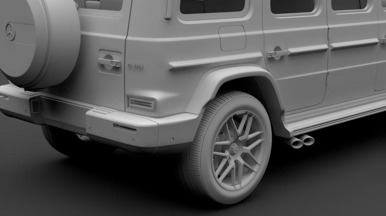 mercedes amg g 63 w463 2019 limousine 3d model 3ds max fbx c4d lwo ma mb hrc xsi obj 312422