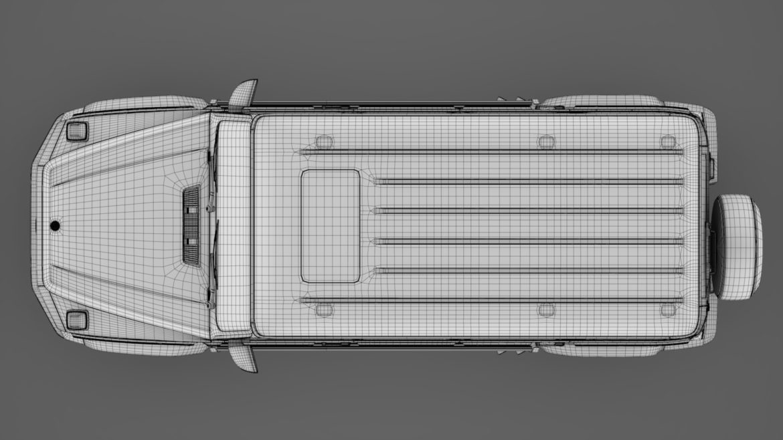 mercedes amg g 63 w463 2019 limousine 3d model 3ds max fbx c4d lwo ma mb hrc xsi obj 312427