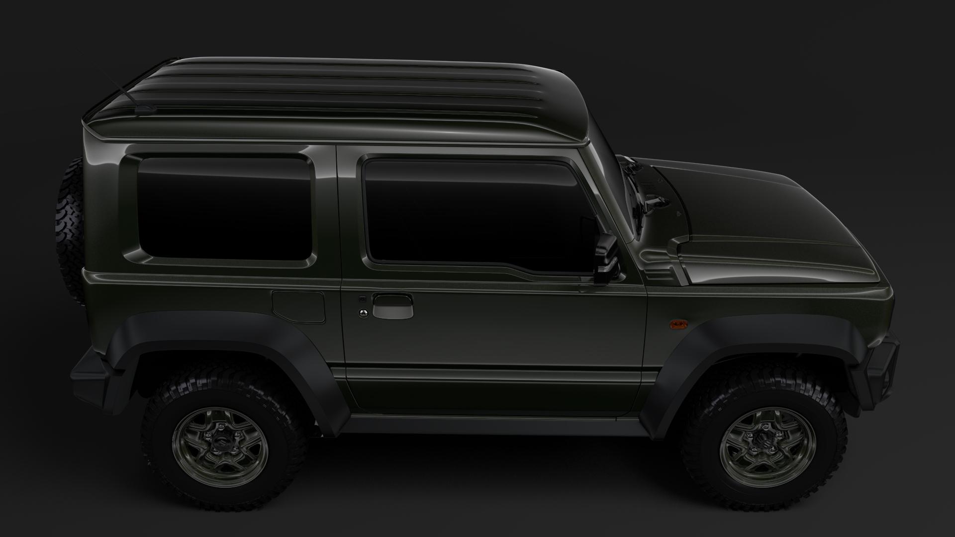 Suzuki Jimny Sierra JL 2019 3D Model - FlatPyramid