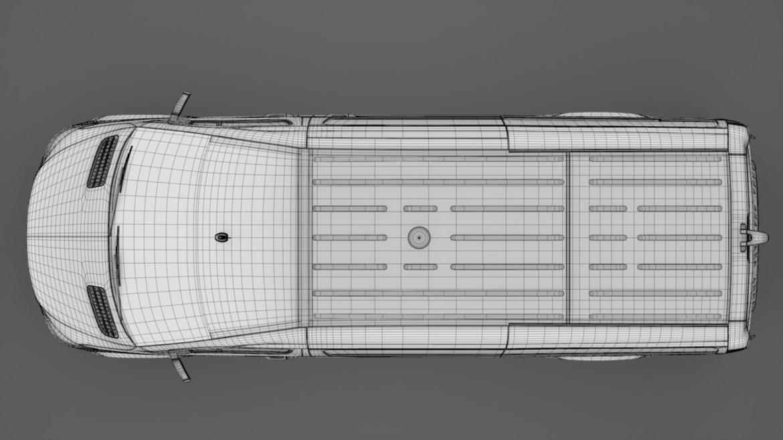 freightliner sprinter panel van l2h2 rwd 2019 3d model 3ds max fbx c4d lwo ma mb hrc xsi obj 312855