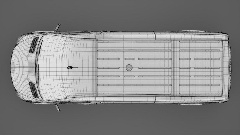 Mercedes Sprinter Panel Van L2H1 FWD 2019 model 3D 3DS MAX FBX C4D LWO MA MB HRC XSI OB 312985