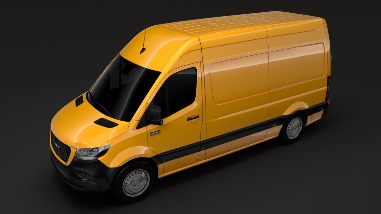 RAM Sprinter Panel Van L2H2 RWD 2019 Model 3D 3ds Max Fbx C4D LWO MA MB HRC XSI OB 313037