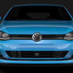 volkswagen golf 7 tdi 5d 2016 3d model 3ds max fbx c4d lwo ma mb obj 313406