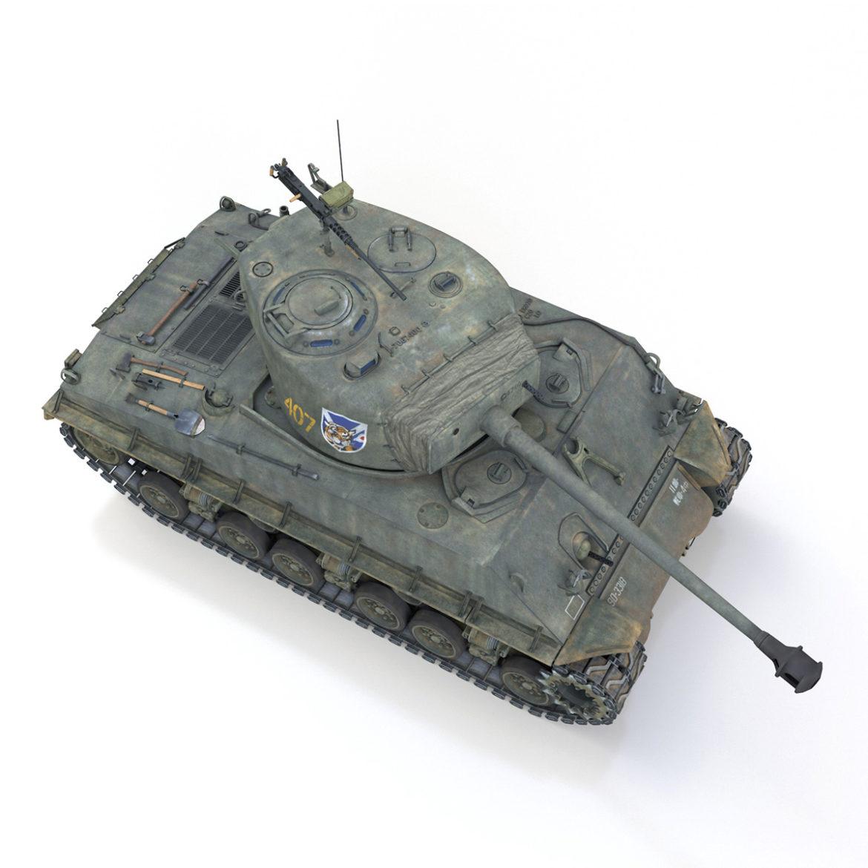 m4a3e8 sherman - jgsdf - 3318 3d загвар 3ds fbx c4d lwo obj 313816