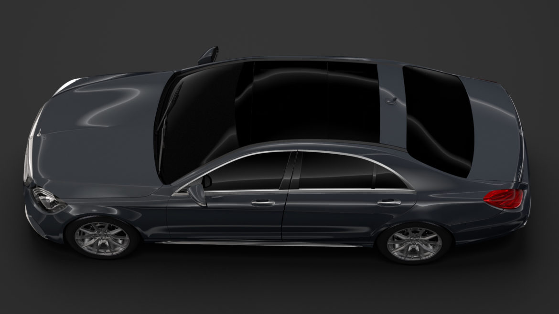 mercedes benz s 350 lang amg line v222 2018 3d model 3ds max fbx c4d lwo ma mb hrc xsi obj 313998