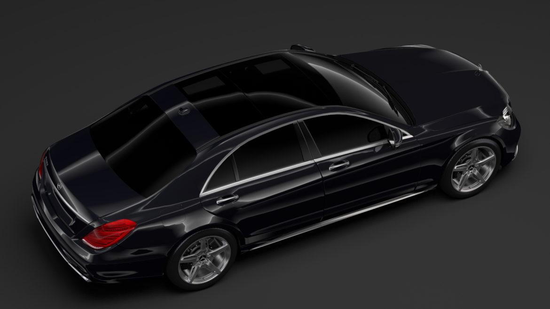 mercedes benz s 560 lang amg line v222 2018 3d model 3ds max fbx c4d lwo ma mb hrc xsi obj 314192