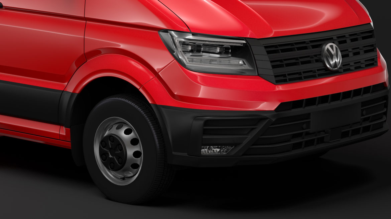 vw crafter l4h3 logu furgons 2018 3d model 3ds max fbx c4d lwo ma mb hrc xsi obj 314429