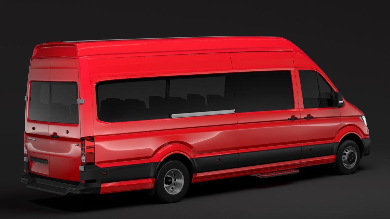 vw crafter l4h3 logu furgons 2018 3d model 3ds max fbx c4d lwo ma mb hrc xsi obj 314432