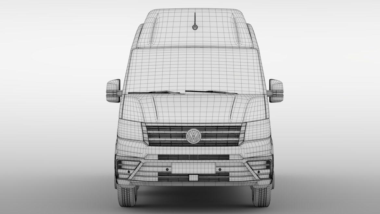 vw crafter l4h3 logu furgons 2018 3d model 3ds max fbx c4d lwo ma mb hrc xsi obj 314438