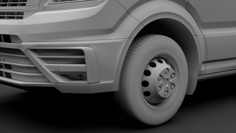 vw crafter l4h3 logu furgons 2018 3d model 3ds max fbx c4d lwo ma mb hrc xsi obj 314439