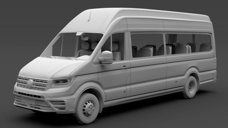 vw crafter l4h3 logu furgons 2018 3d model 3ds max fbx c4d lwo ma mb hrc xsi obj 314441