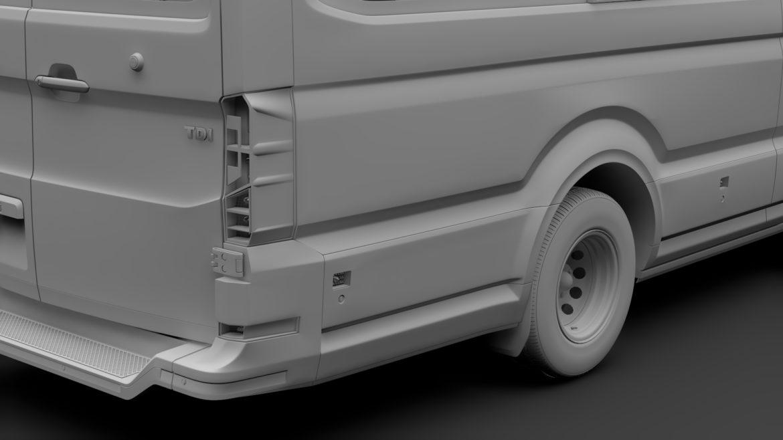 vw crafter l4h3 logu furgons 2018 3d model 3ds max fbx c4d lwo ma mb hrc xsi obj 314443