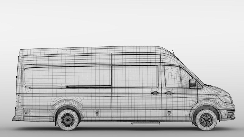 vw crafter l4h3 logu furgons 2018 3d model 3ds max fbx c4d lwo ma mb hrc xsi obj 314444