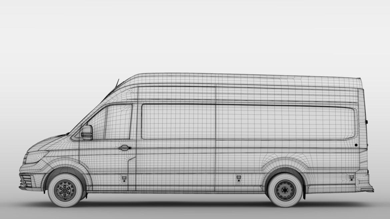 vw crafter l4h3 logu furgons 2018 3d model 3ds max fbx c4d lwo ma mb hrc xsi obj 314446