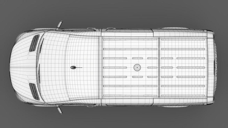 mercedes benz sprinter panel van l1h1 fwd 2019 3d model 3ds max fbx c4d lwo ma mb hrc xsi obj 315004