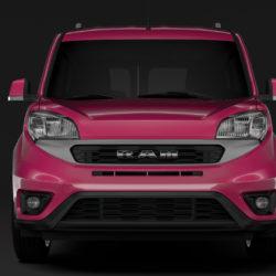 ram promaster city wagon slt l1 2019 model 3d 3ds max fbx c4d lwo ma mb hrc xsi obj 315185