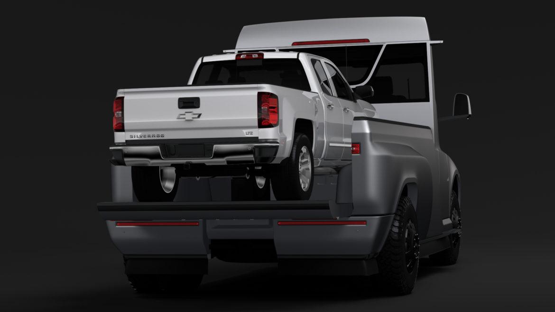 tesla pickup 2020 3d model 3ds max fbx c4d lwo ma mb hrc xsi obj 315408