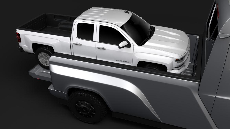 tesla pickup 2020 3d model 3ds max fbx c4d lwo ma mb hrc xsi obj 315409