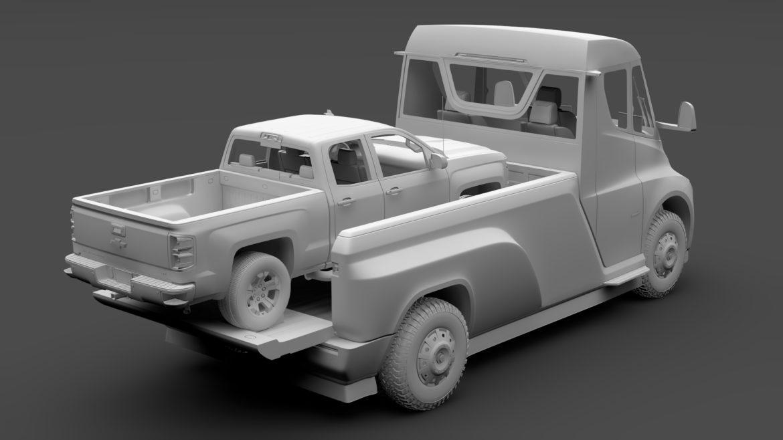 tesla pickup 2020 3d model 3ds max fbx c4d lwo ma mb hrc xsi obj 315410