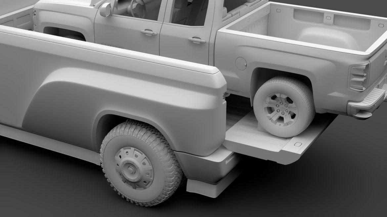 tesla pickup 2020 3d model 3ds max fbx c4d lwo ma mb hrc xsi obj 315413