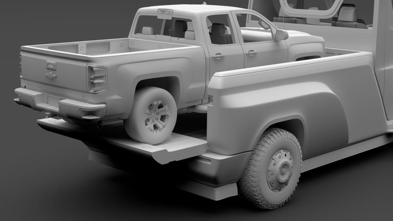 tesla pickup 2020 3d model 3ds max fbx c4d lwo ma mb hrc xsi obj 315414