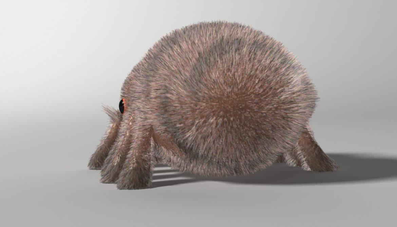 karikatūra zirneklis piestiprināts 3d modelis 3ds max fbx obj 315623