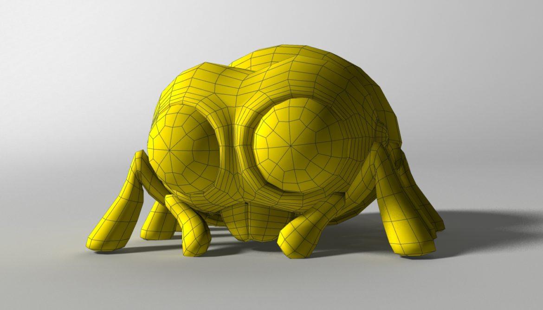 karikatūra zirneklis piestiprināts 3d modelis 3ds max fbx obj 315627