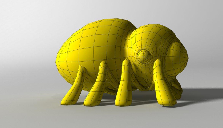 karikatūra zirneklis piestiprināts 3d modelis 3ds max fbx obj 315628