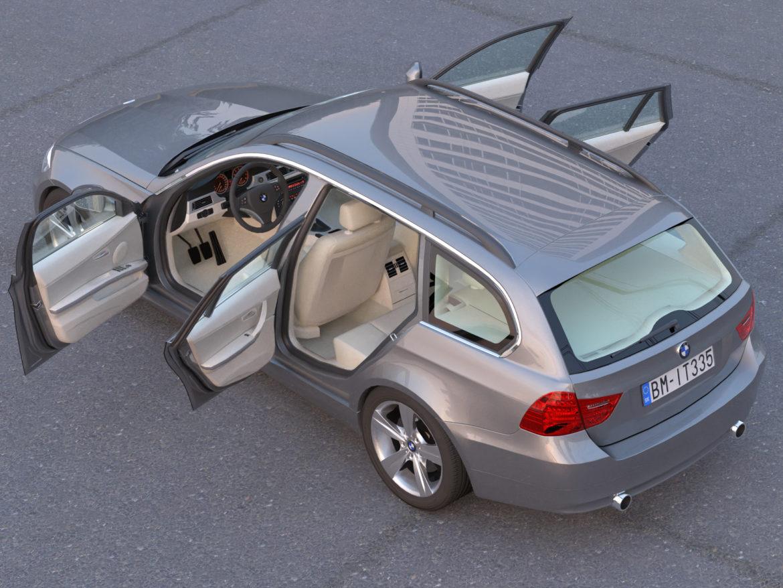 e91 3 seriyalı gəzinti 2009 3d model 3ds max fbx c4d dae obj 315657