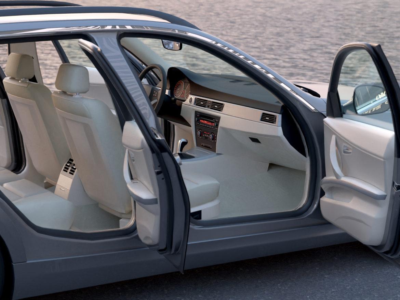 e91 3 seriyalı gəzinti 2009 3d model 3ds max fbx c4d dae obj 315658