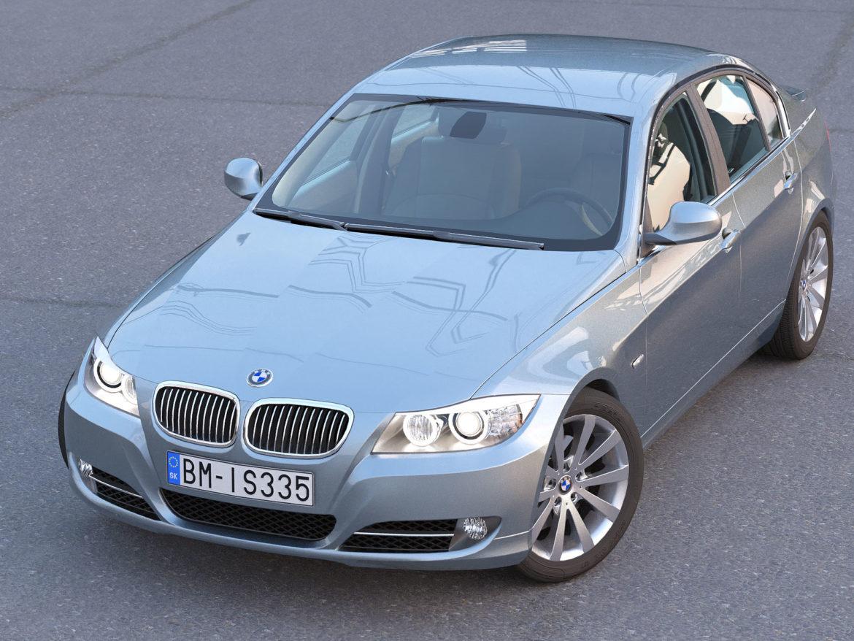 e90 3 seriyalı sedan 2009 3d model 3ds max fbx c4d dae obj 315665