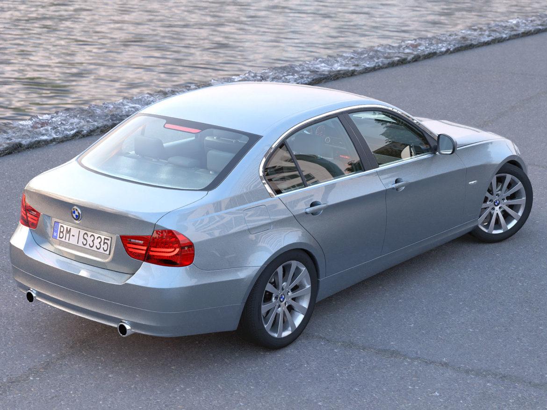 e90 3-series sedan 2009 3d model 3ds max fbx c4d dae obj 315666