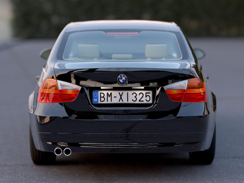 e90 3-series sedan 2006 3d model 3ds max fbx c4d dae obj 315689