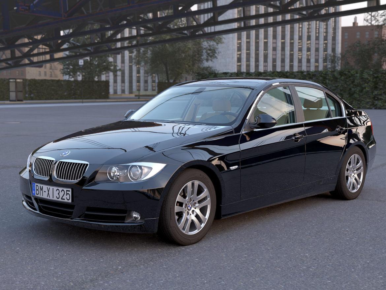 e90 3-series sedan 2006 3d model 3ds max fbx c4d dae obj 315690